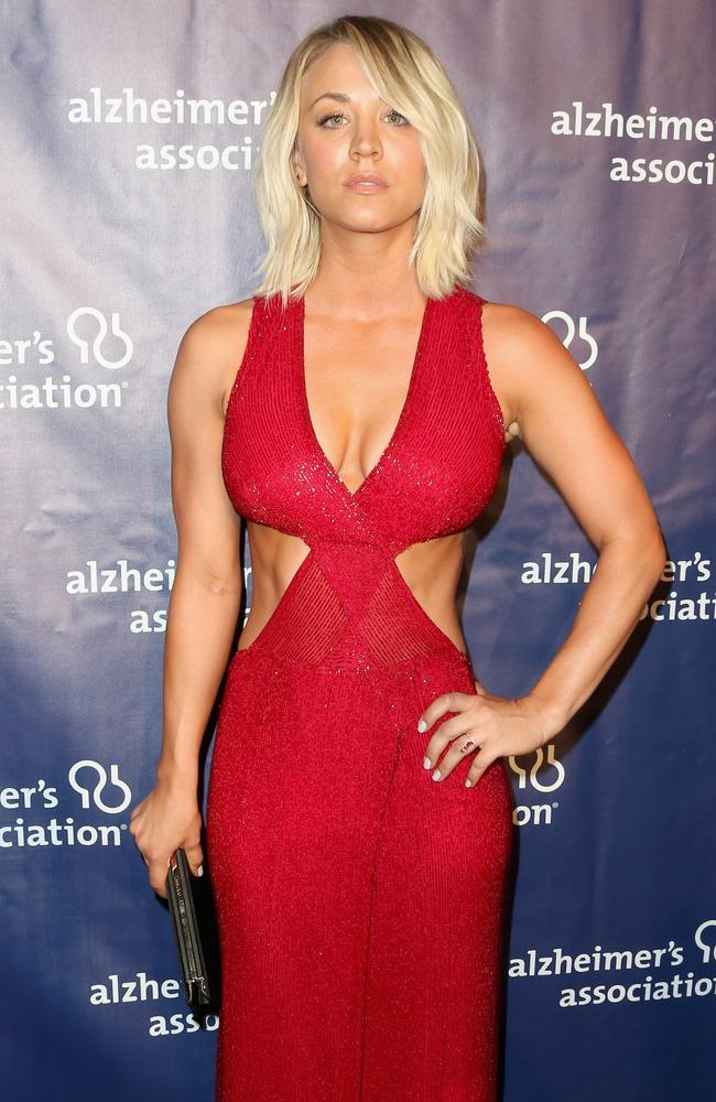 Is it just us, or does Kaley Cuoco keep getting hotter?