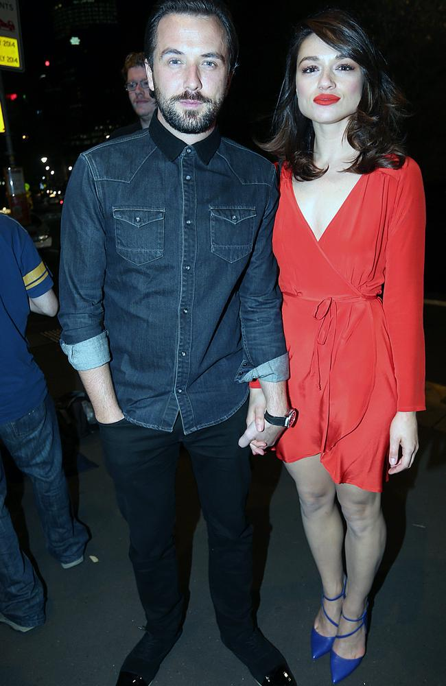 Darren McMullen and his girlfriend Crystal Reed at The Voice afterparty. Picture: Diimex