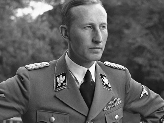 SS General Reinhard Heydrich was assassinated by Jozef Gabcik and Jan Kubis. Picture: Supplied