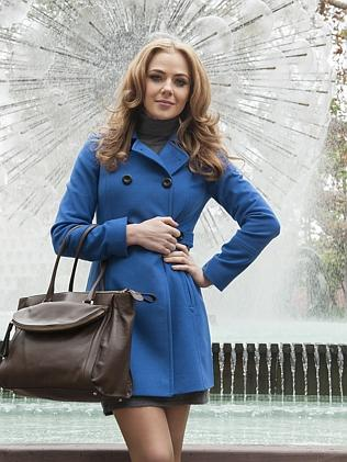 Jessica Marais in costume for Love Child.