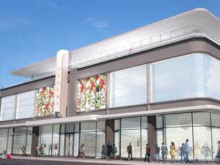 Artist impression of Prospect Road new art deco cinema