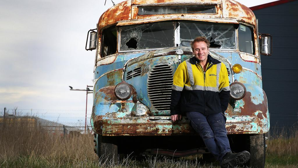 Rusty Old Reo Bus From New Norfolk Set To Be Restored For
