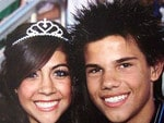 Taylor Lautner - Seems as though he may have been getting some hairstyling tips from Sonic the Hedgehog. Picture: Supplied