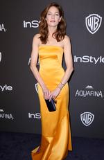 Michelle Monaghan arrives at the InStyle and Warner Bros. Golden Globes afterparty at the Beverly Hilton Hotel on Sunday, Jan. 10, 2016, in Beverly Hills, Calif. (Photo by Matt Sayles/Invision/AP)