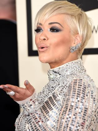 Silver lining ... Rita Ora. Picture: Jason Merritt/Getty Images