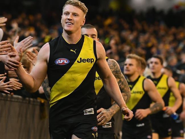 The traditional Richmond guernsey.