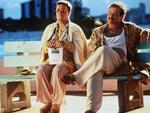 "1996: Actors Nathan Lane and Robin Williams in 1996 film ""The Birdcage"". Picture: Supplied"
