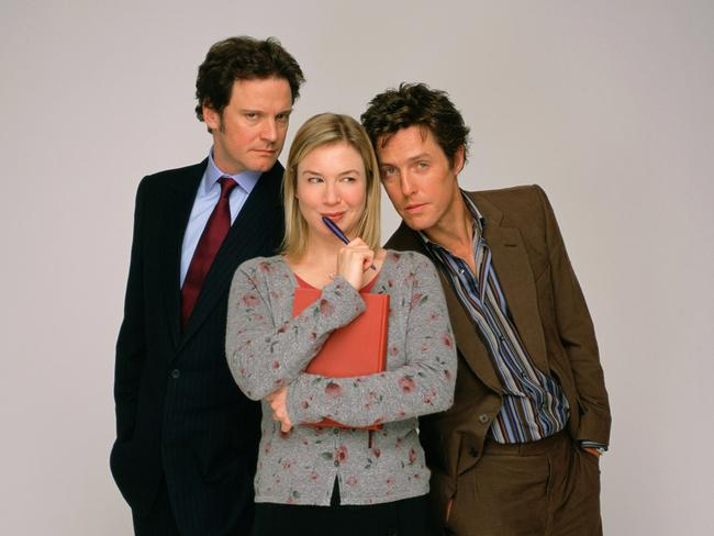 Colin Firth fought Hugh Grant for Renée Zellweger's affections in the first two  <i>Bridget Jones </i>movies. Picture: Supplied