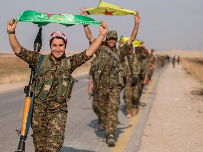 The Kurdish YPG control some 400km of the Syrian-Turkish border that has been a conduit for foreign fighters joining Islamic State.