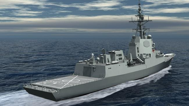 OPTION 5: Modified Air Warfare Destroyer.