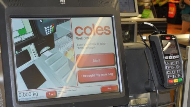 Coles is cracking down on thieves at its self-service check-outs.