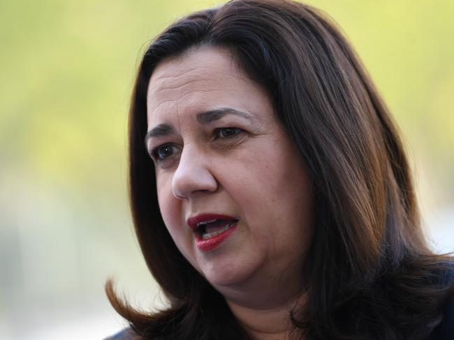 Queensland Premier Annastacia Palaszczuk arrives at the COAG meeting.