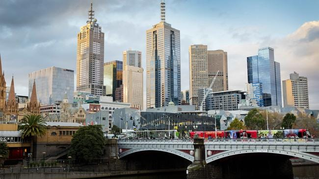 Melbourne is the world's 18th most dynamic city according to the JLL City Momentum Index. Picture: Nathan Dyer