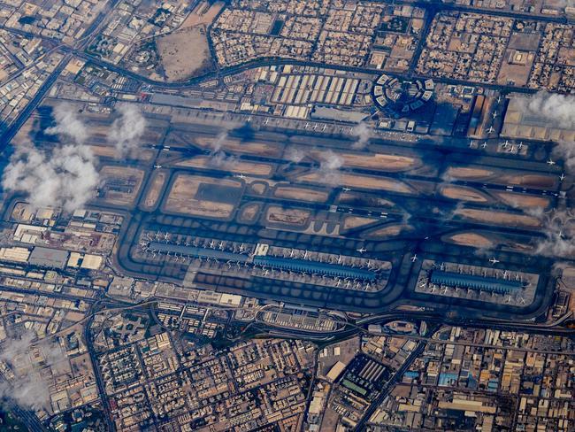 Dubai airport from above. Picture: mushaikh.