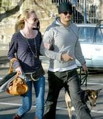 <p>Actors Orlando Bloom and ex girlfriend Kate Bosworth with their dog after leaving Kawa Cafe in Crown Street, Surry Hills, Sydney. Pic. Ross Hodgson</p>