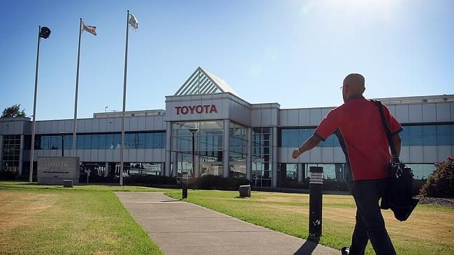 Toyota's announcement brings an end to vehicle manufacturing in Australia after 100 years.