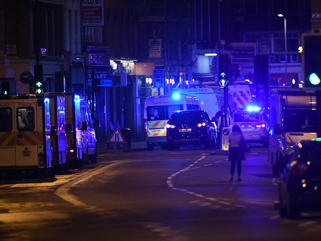 Borough Market in London has become the scene of a terror attack in London. Picture: Carl Court/Getty Images)