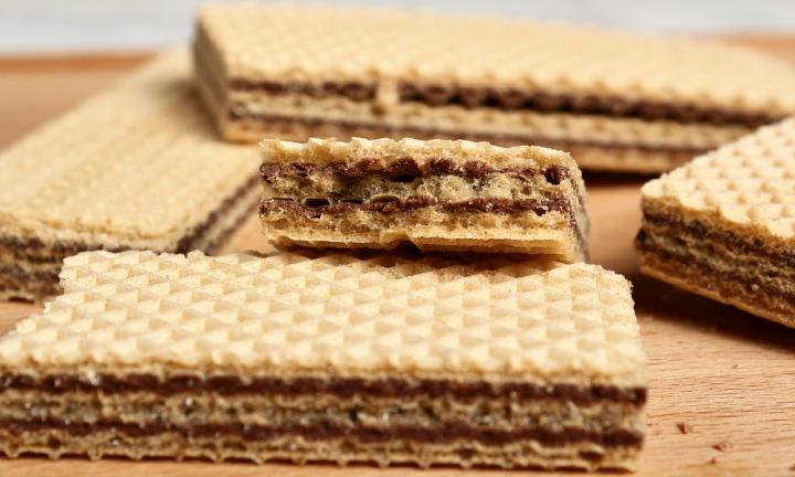 Wafer with Chocolate Filling