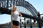 <p>Boxer Lauryn Eagle at Dawes Point Park in Sydney. Lauren wants to join the fight against cancer and will compete in the Seven Bridges Walk. Picture: Ella Pellegrini</p>