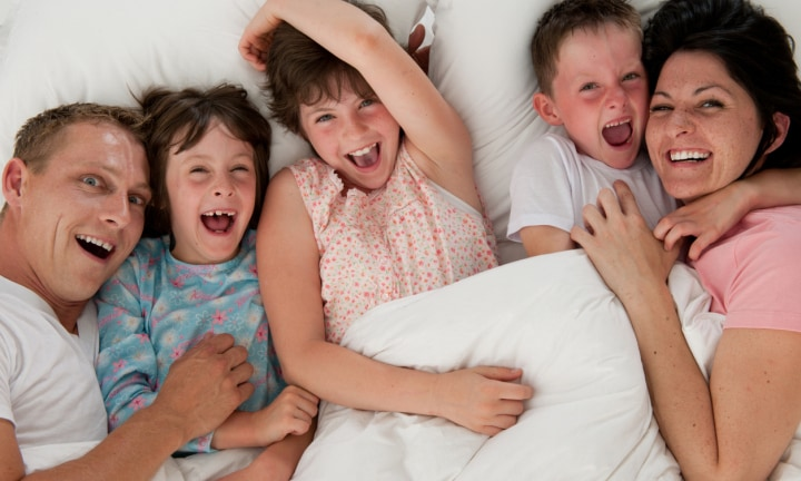 The 10 different ways parents sleep at night