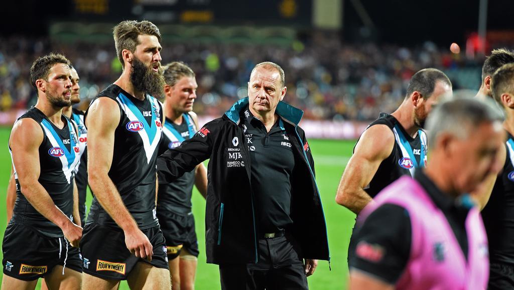 Power coach Ken Hinkley has received strong support from president David Koch. Picture: Tom Huntley