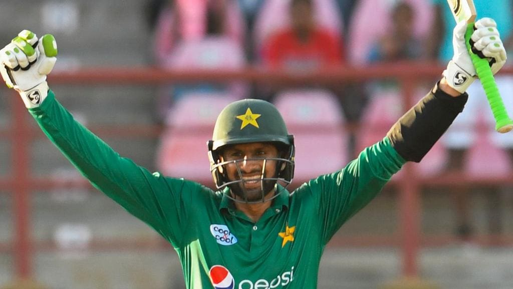 Shoaib Malik scored a ton in the third ODI against the West Indies.
