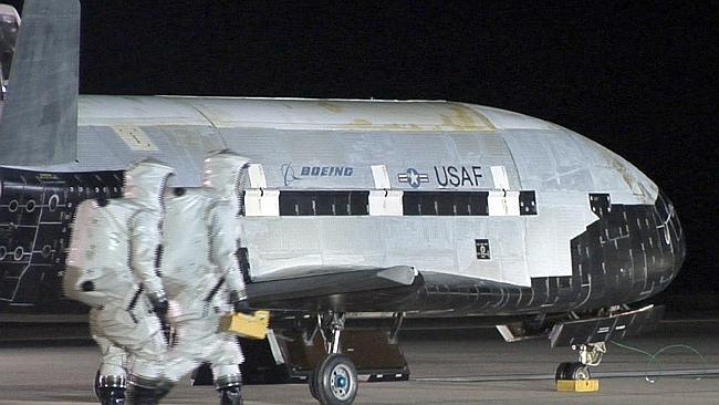The US Air Force put the X-37B into space but have neither confirmed or denied reports its being used for intelligence gathering.