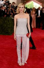 """Diane Kruger attends the Met Gala 2015 """"China: Through The Looking Glass"""". Picture: Getty/AFP"""