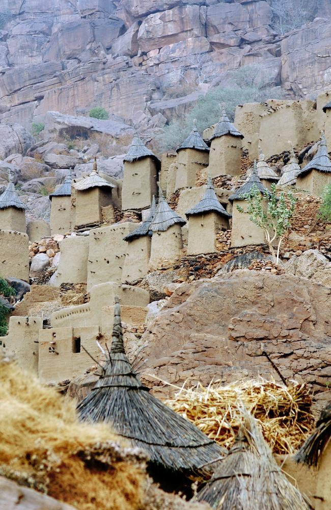 Dogon granaries.