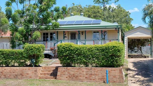 This cute Queenslander cottage at 62 Tibrogargan Drive, Narangba, is on the market for offers over $355,000.