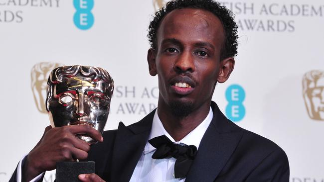 Barkhad Abdi won a BAFTA for his work. Picture: AFP
