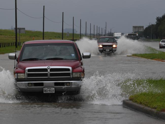 Harvey, swirling for the past few days off Texas and Louisiana, has inundated the region. Picture: AFP.