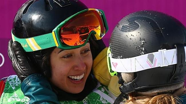 Out: Australian winter sports star Belle Brockoff. Picture: News Corp Australia