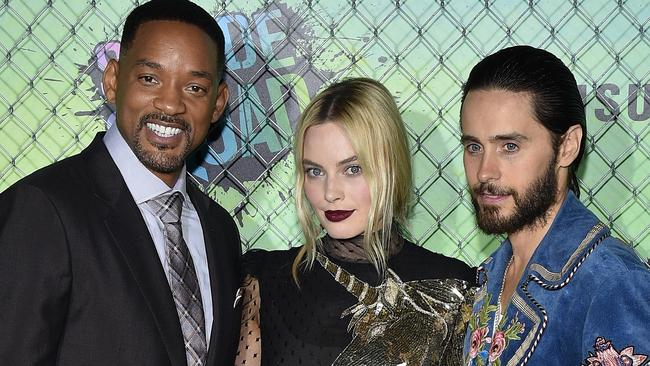 Will Smith, Margot Robbie and Jared Leto all stars in Suicide Squad.