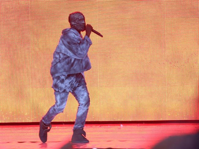 Kanye performs in London in July.