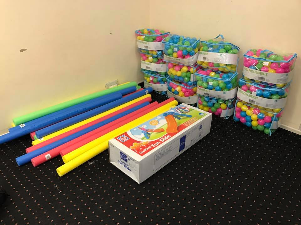 DIY ball pit hack: Visit Bunnings and Kmart to build the best kids ...