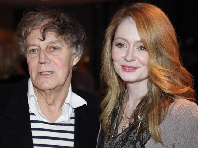 Gracie's father Barry Otto and sister Miranda Otto.