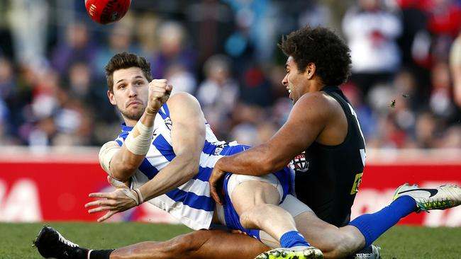 Aaron Black has been disappointing this season. Picture: Michael Klein