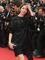 Jury member Sofia Coppola poses for photographers on the red carpet for the opening ceremony and the screening of Grace of Monaco at the 67th international film festival, Cannes. Picture: AP