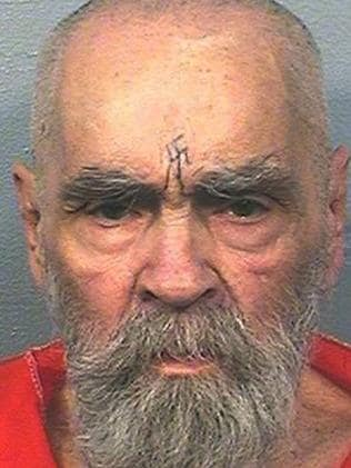 Charles Manson died in November aged 83. Picture: AP