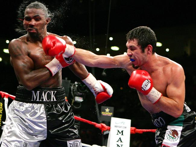 Mack retired in 2014 after losing four consecutive fights.