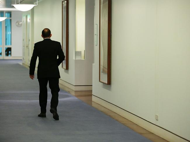 Abbott's going to have no friends left in parliament if he keeps acting the way he has been. Picture: Stefan Postles / Getty Images