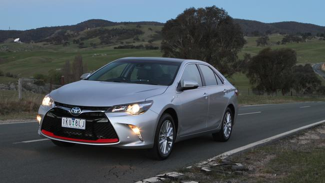 The locally-made Toyota Camry was tuned for Australian roads. Picture: Joshua Dowling.