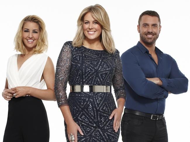 Stylist Jules has teamed up with host Samantha Armytage and trainer Cameron Byrnes on  <i>Bringing Sexy Back</i>. Picture: Supplied