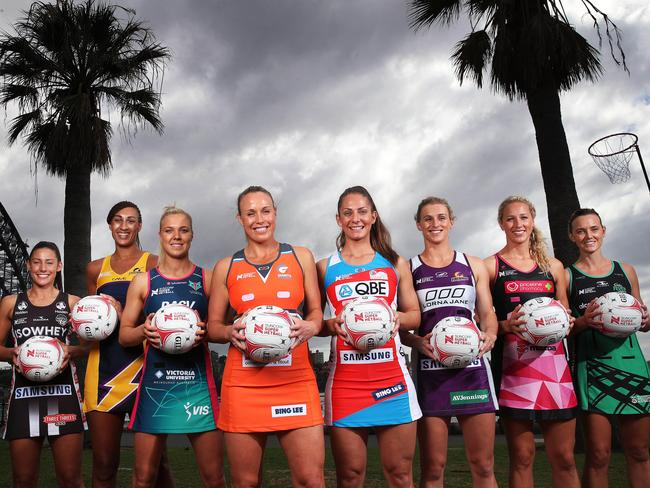The eight netball captains meet up in Sydney this week ahead of the Super Netball opener.