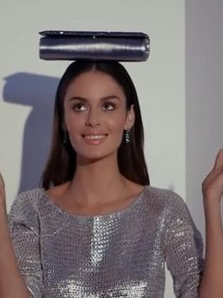 Behind-the-scenes with Nicole Trunfio. Picture: YouTube