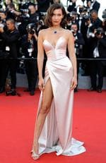 "Bella Hadid attends the ""Ismael's Ghosts (Les Fantomes d'Ismael)"" screening and Opening Gala during the 70th annual Cannes Film Festival at Palais des Festivals on May 17, 2017 in Cannes, France. Picture: Getty"