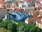 <p>The Kunsthaus Graz is an art museum built in Austria in 2003 / Flickr user Loloieg</p>