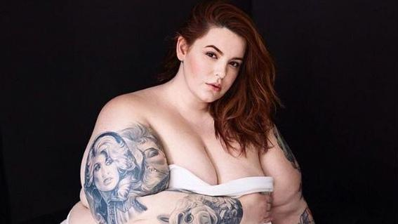 Tess Holliday says she is boycotting Uber after a driver allegedly fat-shamed her. Picture: Instagram/tessholliday