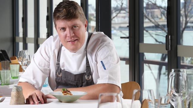 Head chef at Stokehouse, Richard Ousby.